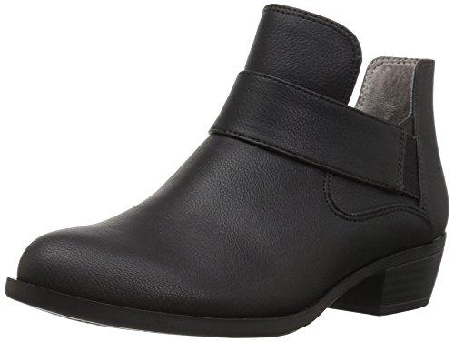LifeStride Women's Able Ankle Bootie, Black, 9 M US