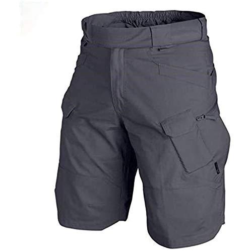 Korte sportbroek voor heren, korte broek, regular fit, riem, bermuda, korte broek, zomershort