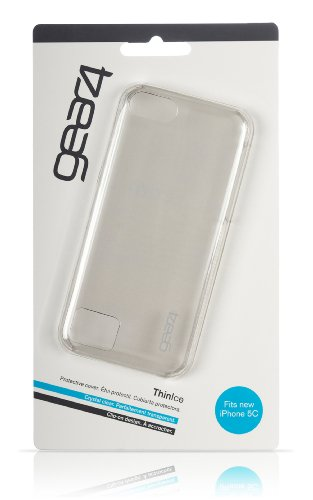 Gear4 ThinIce Coque en silicone pour iPhone 5/ iPhone SEC Transparent