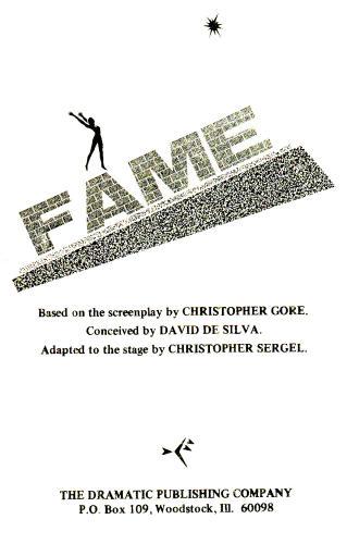 Fame: Playscript