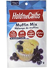 HoldTheCarbs Keto Muffin Mix with Stevia and Erythritol, 110g