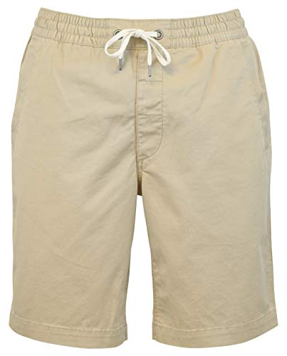 Polo Ralph Lauren Mens Classic Fit 9'' Drawstring Shorts, Beige, Medium by Polo Ralph Lauren