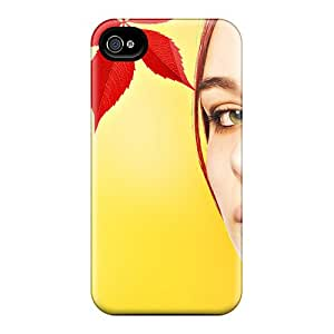 Too24242rNwy Leaves Lady's Face Awesome High Quality Iphone 6 Cases Skin