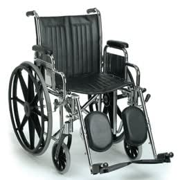 """Guardian Easy Care 2000 Wheelchair - 16""""W, Removable Desk Arms, Swingaway Footrests - Model 552740"""