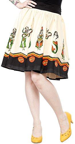 Sourpuss-Sideshow-Ladies-Swing-Skirt