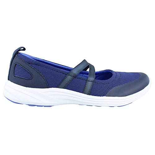 Vionic Womens Agile Opal Slip On Sneakers - Ladies Casual Flats Concealed Orthotic Support