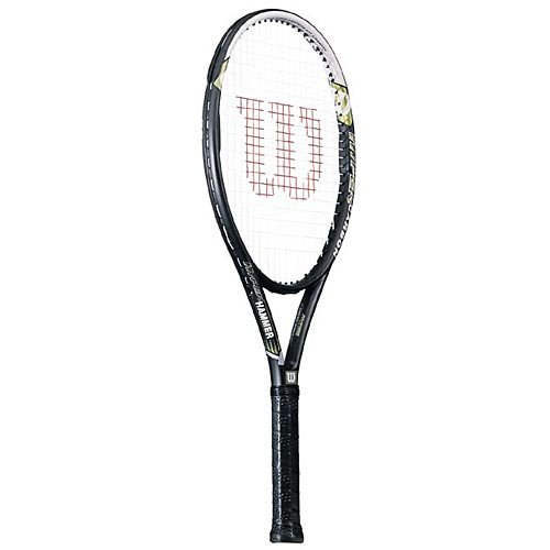 (Wilson Hyper Hammer 5.3 OS Grip Size: 4 1/2 Tennis Racquet)