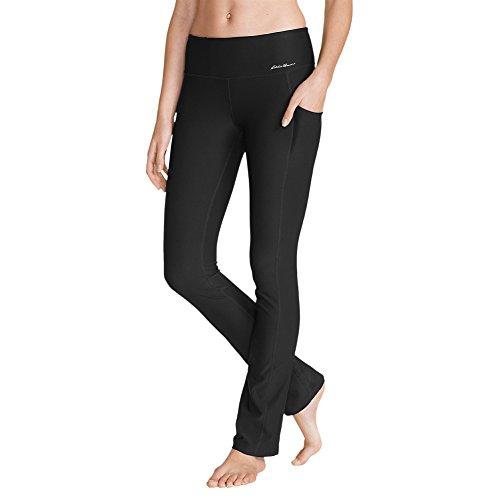 Eddie Bauer Women's Movement Pants, Black Regular M ()