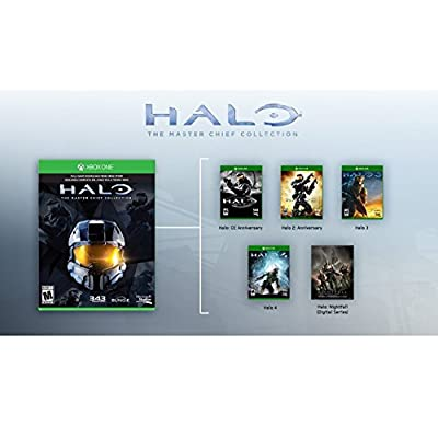 Xbox One 500gb Console Halo The Master Chief Collection Bundle