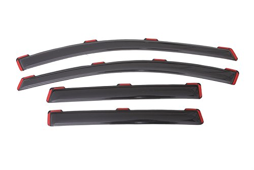 Auto Ventshade 194383 In-Channel Ventvisor Side Window Deflector, 4-Piece Set for 2013-2019 Ford Escape - Lund Window Vents
