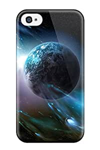 New CaseyKBrown Super Strong Hd Space Tpu Case Cover For Iphone 4/4s
