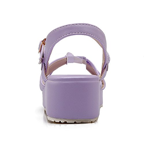 EU 1TO9 Purple Donna Viola Ballerine Sconosciuto 35 q1AZwUwx