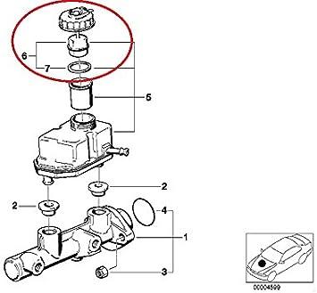 2007 bmw 525i brake diagram amazon com genuine bmw e39 525i 528i 530i 540i m5 e38 740i 740il  genuine bmw e39 525i 528i 530i 540i m5