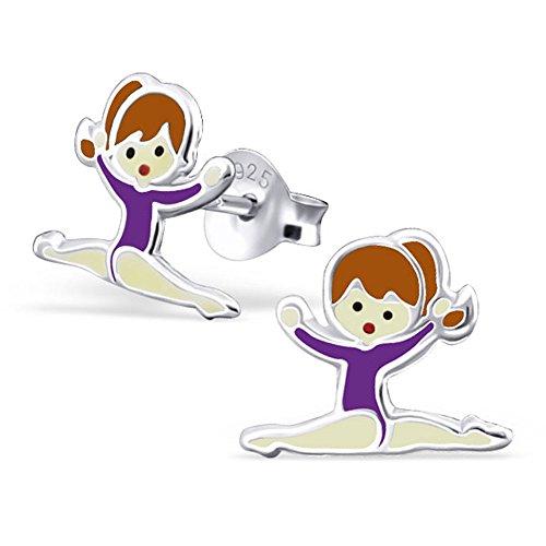 purple-gymnastics-girl-earrings-stering-silver-925-studs-post-e22230