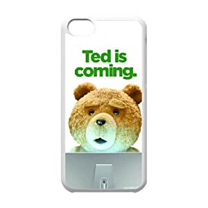 Ted iPhone 5c Cell Phone Case White SH6130233
