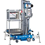 Genie AC Aerial Work Platform with Sliding Mid-Rail Entry - 25Ft.H, 350Lb. Capacity, Model# AWP 25 AC STD