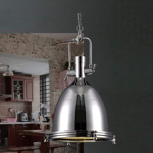 - BOSSLV Vintage Ceiling Lamp Chandelier Industrial Light Pendent Lamp in Polished Nickel