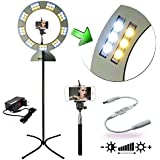 Iluminador Ring Light Maxx com Tripé