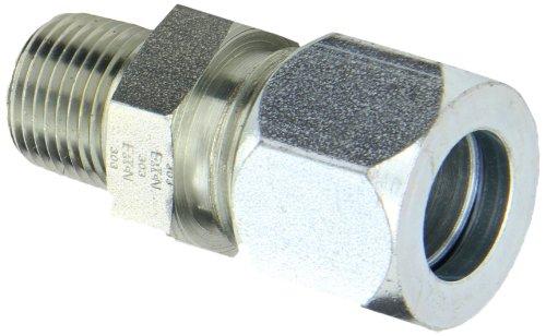 Flareless Tube - Eaton Weatherhead Carbon Steel Flareless 7000 Series Ermeto Tube Fitting, Male Connector, 1/2