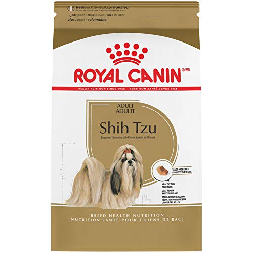 Royal Canin Shih Tzu Adult Breed Specific Dry Dog Food, 10 Pounds. Bag