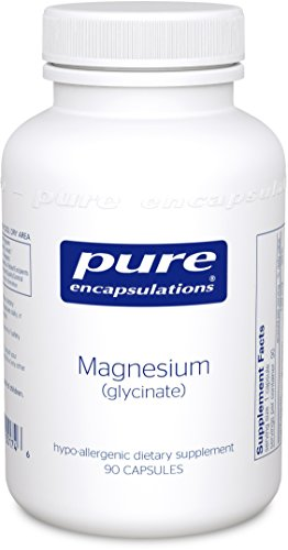 Magnesium Malate 90 Capsules - Pure Encapsulations - Magnesium (Glycinate) - Supports Enzymatic and Physiological Functions* - 90 Capsules