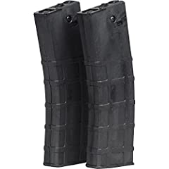 The 2 pack of 19rd Magazines are made specifically for the FIRST STRIKE T15 paintball gun. Feeds both First Strike and standard .68 Cal paintballs. 2 Pack of Factory FIRST STRIKE T15 Magazines.