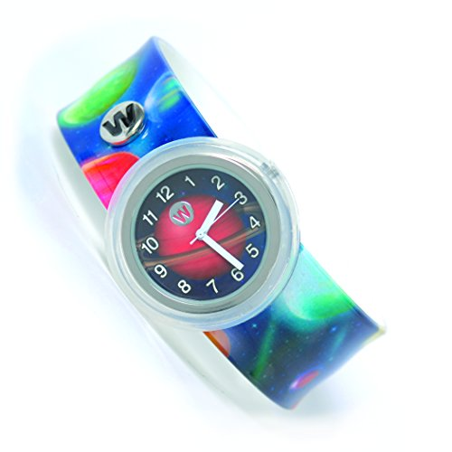 Watchitude Plunge Proof Slap Watch - Planets - Kids Watch for Boys & Girls (Slap Watch)