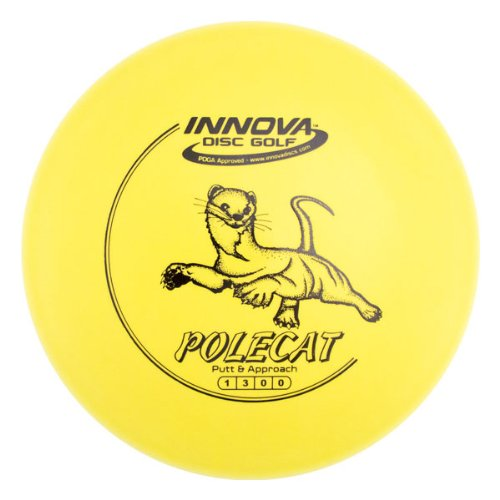 Innova - Champion Discs DX Polecat Golf Disc, 170-172 gm (Colors may - Disc Golf Putter