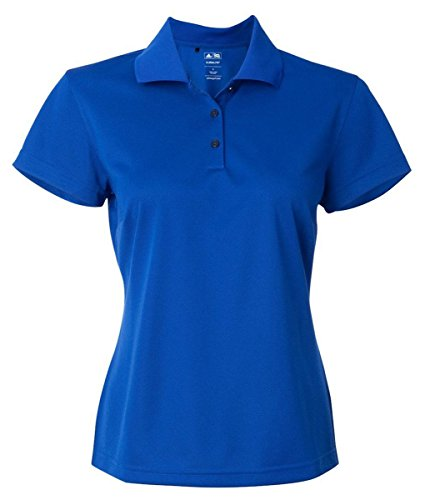 Adidas Ladies' Climalite Basic Polo Shirt, Collegiate Royal, Large -
