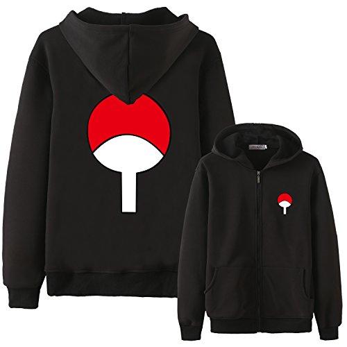 - Holran Naruto Uchiha Sasuke Hoodies Jacket