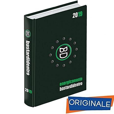 092b3e841b Diario Scuola 2018-2019 datato Bastardi Dentro energicamente 2019 16 mesi 11 ,5x15,