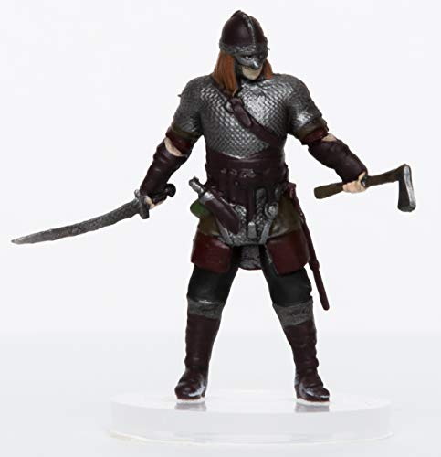 (Characters of Adventure - Male Human Viking - Plastic Miniature for D&D or Pathfinder)