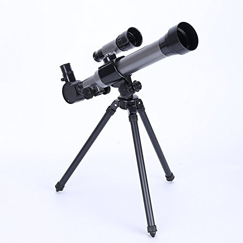 Telescope for children,telescope for beginners,tripod, finder, three magnifying glasses,scientific toys, refraction telescope and tripod SMALL MYWOOD