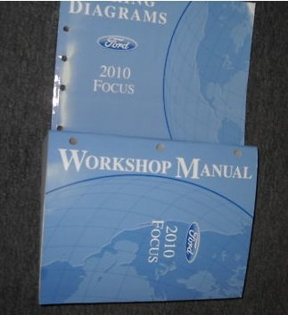 2010 Ford Focus Service Repair Shop Manual Set Oem 10 Service Manual And The Wiring Diagrams Manual Ford Amazon Com Books