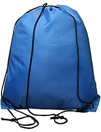 Drawstring Tote Cinch Sack Backpack Bag Beach Swimming Gym Traveling