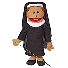 25 Nun, Hispanic, Full Body, Ventriloquist Style Puppet