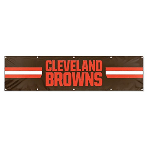 Party Animal Cleveland Browns 8'x2' NFL Banner