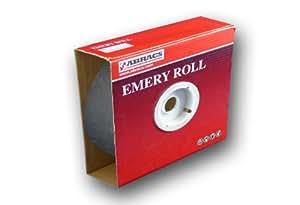Abracs - Rollo de papel de lija (P40, 50 mm x 50 m)