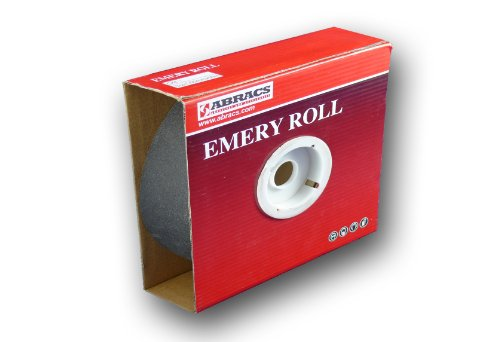 Tools & Workshop Equipment Abracs Emery Roll 25mm X 50m X P80 Box 1 32147 Connect Home & Garden