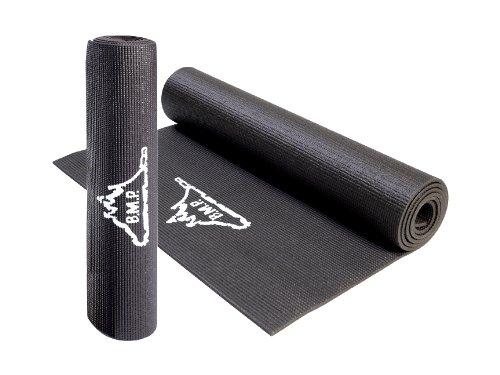 "Black Mountain Products Yoga Mat Exercise Mat- 72"" x 24"" Cus"