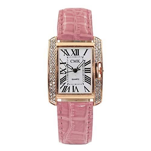 (chenqiu Ladies Analog Quartz Watch Female,Fashion Women Cute Cat Analog Quartz Dial Wrist Watch Thin Belt)