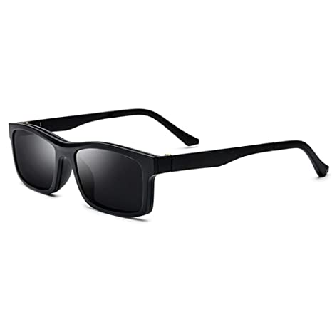 HLW Sports-sungl Gafas de Sol polarizadas TR90 Medio Marco ...