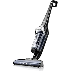 Deik Vacuum Cleaner, Cordless Vacuum Cleaner with 28.8V Li-ion Battery Powered, Lightweight Rechargeable Bagless Stick Vacuum, Cyclonic HEPA Filtration System with Wall Mount, 2018 Upgraded