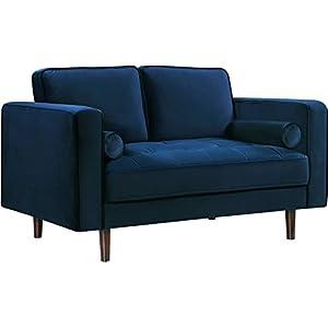 Magnificent Amazon Com Meridian Furniture Isabelle Collection Love Machost Co Dining Chair Design Ideas Machostcouk