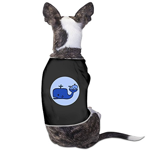 Orca Whale Dog Costume (Baby Whale Pajamas Lovely Dog Outfit Dogs Coats Suitable For Little Dogs)
