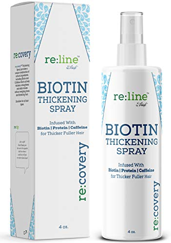 Biotin Hair Thickening Spray for Thin Hair Texturizing Spray Hair Loss Prevention Thinning Hair Thickening Tonic for…