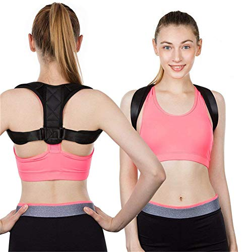 WLIXZ Adjustable Posture Corrector Belt, Improve Thoracic Kyphosis, Effective Neck Pain Relief,XL