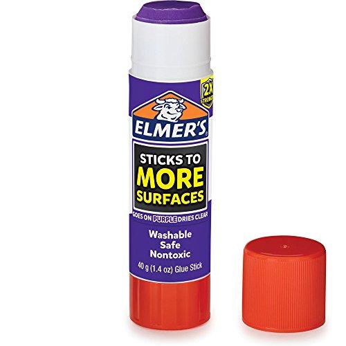Elmer's Extra Strength School Glue Sticks, Washable, 6 Gram, 4 Count by Elmer's (Image #2)
