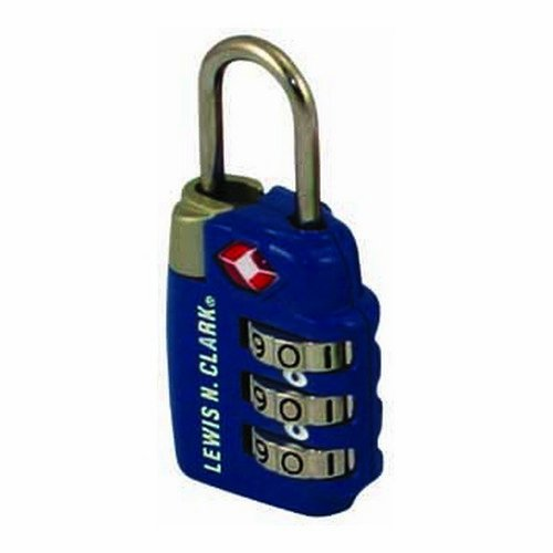 TravelSentry Combo Lock Lrg 3Dial Blue