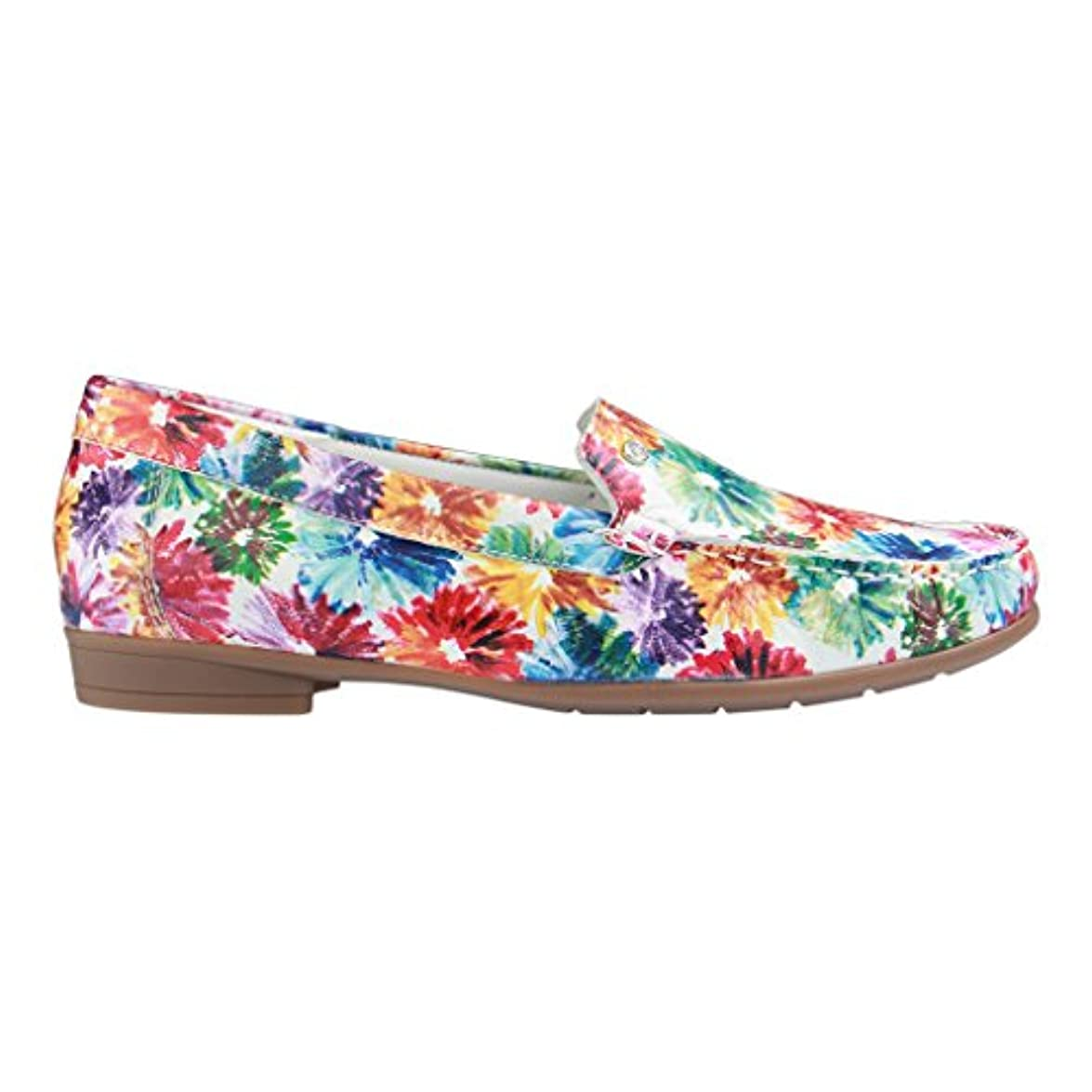 Larga Ara A 12-30771 - Fiorello Donna Multicolor Slipper Pianta Da